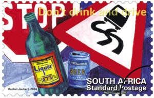 Stamps D-Alive don't drink