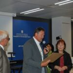 FEVR 25 - Peter Vlaming receives 20 years certificate