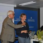 FEVR 25 - Tamara Haegi receives FEVR 25 Trophy in the name of Marcel Haegi